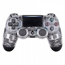 Glossy Transparent Clear Playstation 4 PS4 Dual Shock 4 Wireless Custom Controller