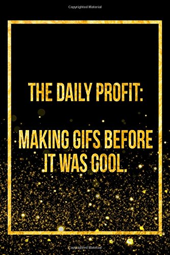 Download The Daily Profit: Making GIFS Before It Was Cool: Black Harry Potter Designer Journal ebook