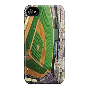 Shockproof Cell-phone Hard Covers For Iphone 4/4s With Support Your Personal Customized Stylish Minnesota Twins Skin SherriFakhry