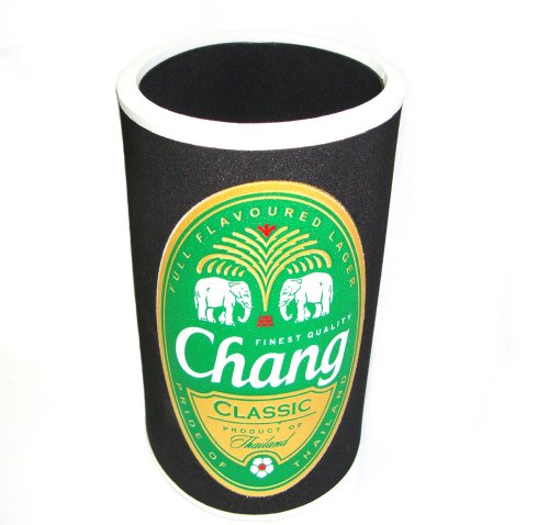 drink-holder-chang-beer-thai-black-neoprene-small-bottle-holder-koozie-cooler-keep-beer-cold