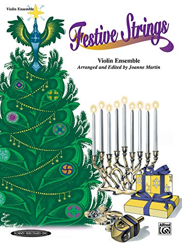 Festive Strings for Ensemble: Violin Ensemble (Ensemble String Violin)