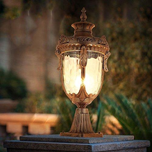 MG Outdoor Garden Light, wasserdicht Rost SunscreenAnti-Oxidation SunscreenAnti-Oxidation SunscreenAnti-Oxidation und korrosionsBesteändige Säule Lampe zusätzlich zu Glühbirne, 110-230V E27 (Säule) (größe   53-19-14CM) B07GLDSHYR | Kaufen Sie online  ad86e9