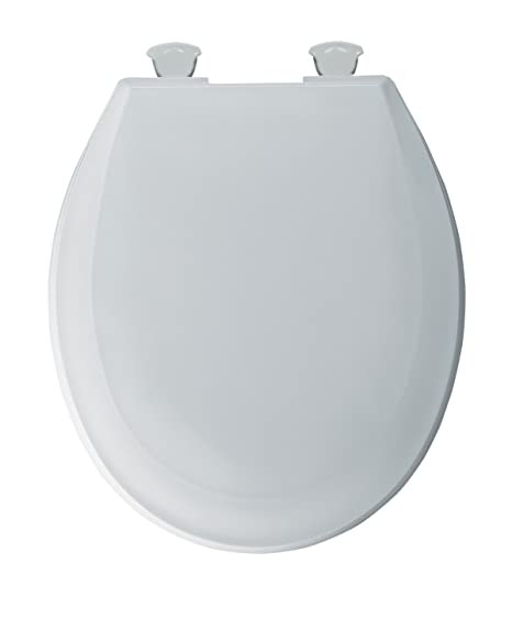 Excellent Bemis 100Ec000 Plastic Round Toilet Seat With Easy Clean And Dailytribune Chair Design For Home Dailytribuneorg