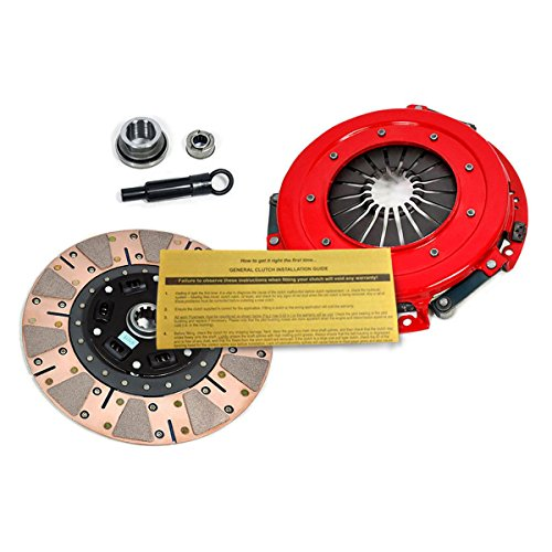 Friction Clutch Dual Kit (EFT STAGE 3 DUAL-FRICTION CLUTCH PRO-KIT 1986-01 MUSTANG GT LX / SVT COBRA 8CYL)