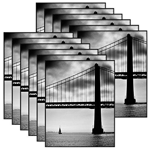 MCS 8x10 Inch Format Frame 12-Pack, Black (65553) by MCS (Image #1)