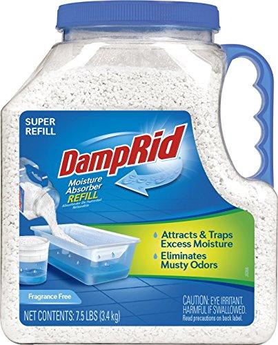 DampRid FG37 Moisture Absorber Refill, 7.5 lb, Fragrance ()