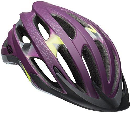 Bell Drifter Bike Helmet - Matte/Gloss Plum Deco Medium