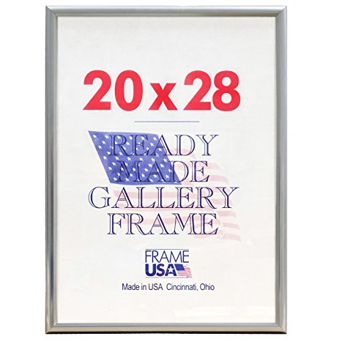 Amazoncom Frame Usa Deluxe Poster Frame Frames 20 X 28 Silver