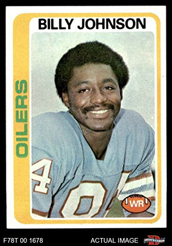 1978 Topps # 390 Billy Johnson Houston Oilers (Football Card) Dean's Cards 8 - NM/MT Oilers