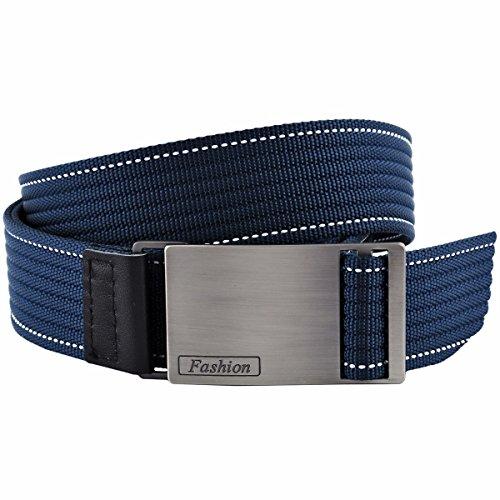 squaregarden Nylon Web Belts for Men, 1.5