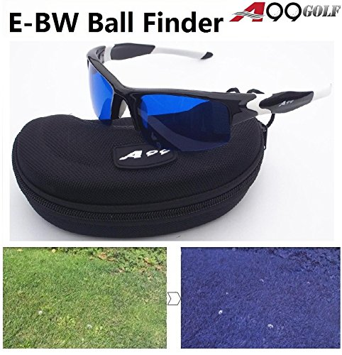 A99 Golf Ball Finder Glasses (Black White - Glasses Golf