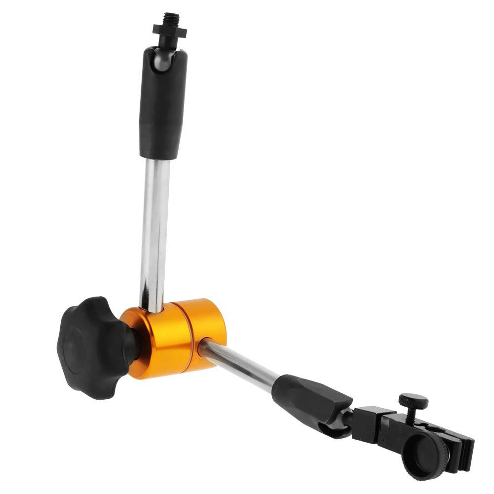 verstellbar Universal-Magnetfu/ßhalter flexibler St/änder f/ür Messuhr Wird f/ür die spanende Bearbeitung Universal-Magnetfu/ßhalter Werkst/ückmessung und Ger/ätekalibrierung verwendet