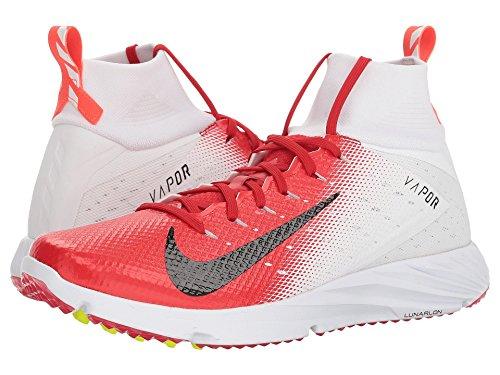 [NIKE(ナイキ)] メンズランニングシューズ?スニーカー?靴 Vapor Speed Turf 2 White/Black/University Red/Total Crimson 15 (33.cm) D - Medium
