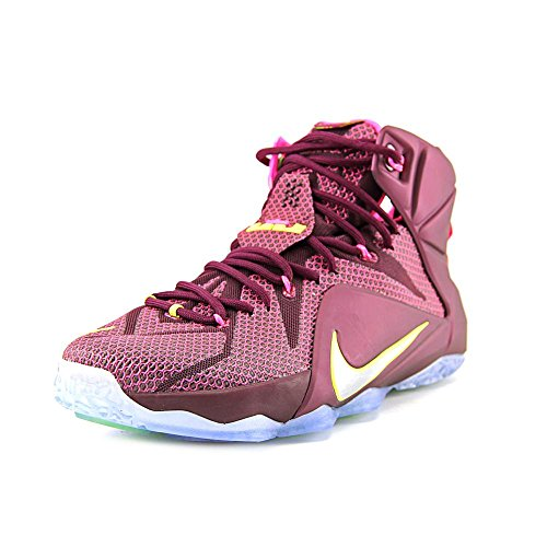 Rouge Rouge 684593 Montantes Nike Xii Hommes James Baskets Lebron 12 12 12 gHzqZB8