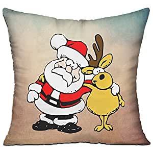 Roseer Merry Christmas Exclusive Bed Pillow