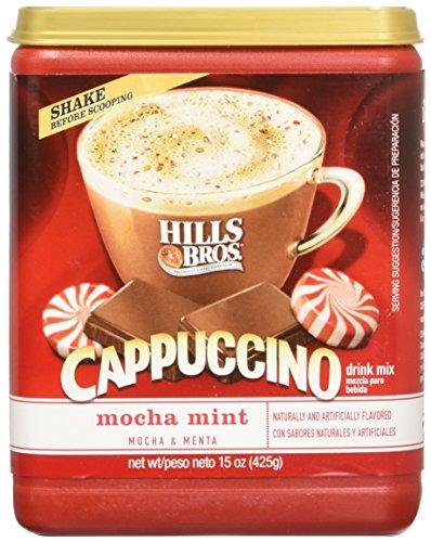 Mint Cappuccino (Hills Bros Mocha Mint Cappuccino, 15 oz(Pack of 4))