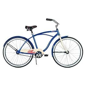 Huffy Men's Bay Pointe Bike, MetBlue, 26-Inch