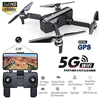 RC Drone Camara Drone SJRC F11 GPS 5G WiFi FPV con cámara 1080P 25 ...