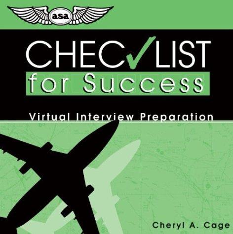 Checklist for Success CD: Virtual Interview Preparation (Professional Aviation series) ebook