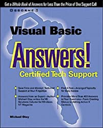 Visual Basic Answers!: Certified Tech Support