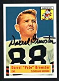 Darrel Pete Brewster #21 signed autograph 1994 Topps 1956 Archives Football Card
