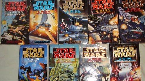 Star Wars X-Wing Set 5 Paperbacks (Iron Fist X Wing)