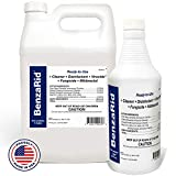 BenzaRid Professional Disinfectant (4) Gallon Set