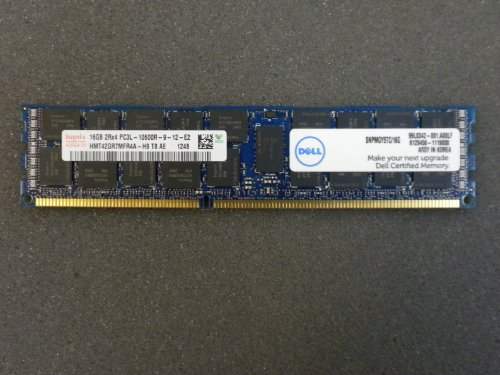 16GB 2Rx4 DELL MEMORY SNPMGY5TC/16G A5008568 FOR DELL POWEREDGE&WORKSTATION (1333 Server Memory)