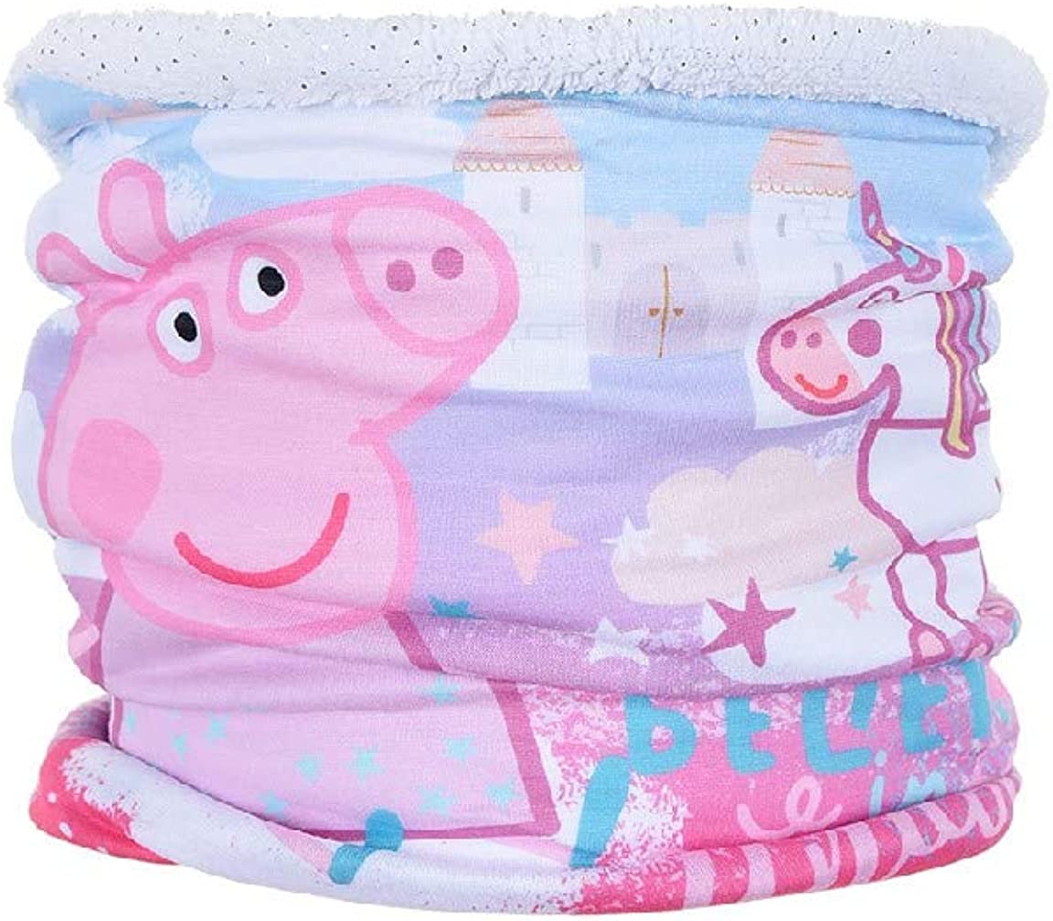 Peppa Wutz Pig Kinder Schal Schlauchschal Loop Snood