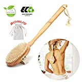 Dry Brushing Body Brush,Dry Skin Brush, Body Scrubber/Brush Perfect for Dry Skin Brushing, Shower And Bath, An Essential for Cellulite Reduction, Skin Exfoliation