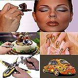 Airbrush Makeup Set Pinkiou Air Brush Kit for Face