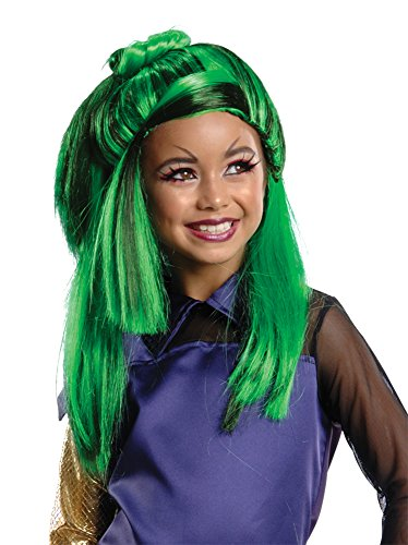 UHC Child Monster High Jinafire Wig Headpiece Disguise Party Halloween Accessory]()