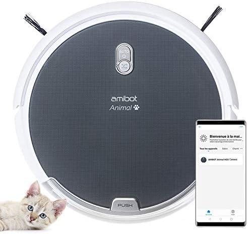 AMIBOT Animal H2O Connect - Robot Aspirador y friegasuelos pensado ...