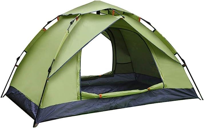 Caishuirong -Outdoor Tienda de campaña Familiar Carpas for Acampar con Bolsa de Transporte al Aire Libre Senderismo Viajes Familia Playa Carpa (Color : Green, Size : One Size): Amazon.es: Hogar