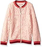 GUESS Big Girls' Long Sleeve Floral Lace
