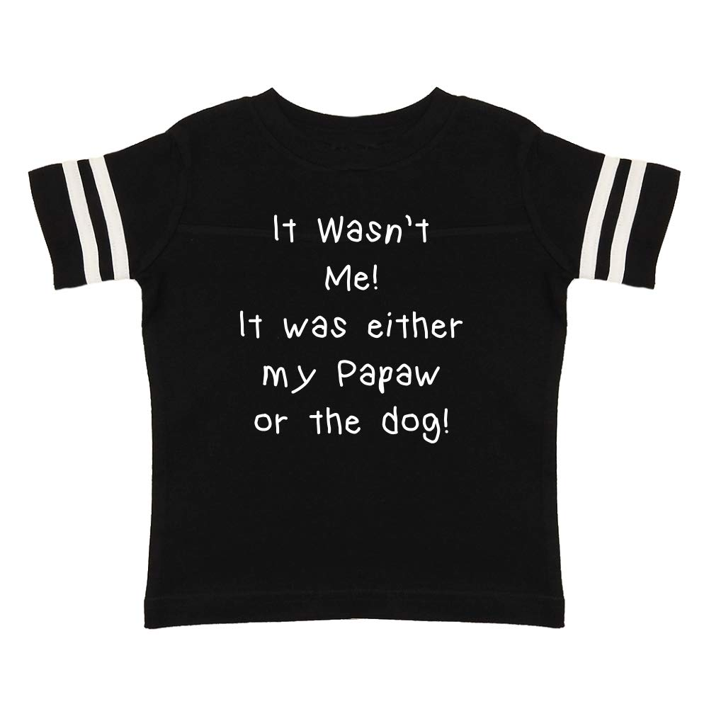 It was Either My Papaw Or The Dog Toddler//Kids Sporty T-Shirt Mashed Clothing It Wasnt Me