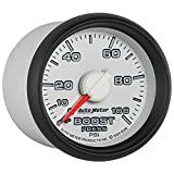 "Auto Meter 8506 Factory Match 2-1/16"" 0-100 PSI Mechanical Boost Gauge for Dodge"