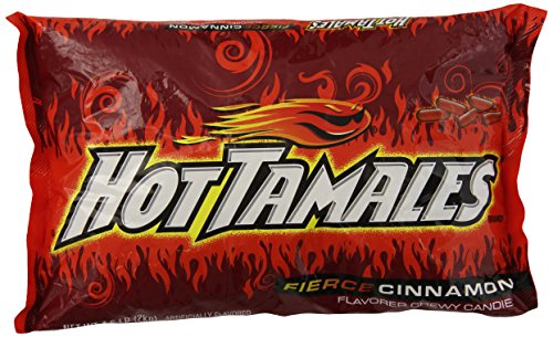 Hot Tamales, Fierce cinnamon, 0.49 Ounce