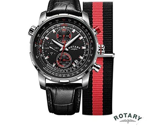 Rotary GS00195/04/KIT - Reloj de pulsera para hombre (intercambiable)