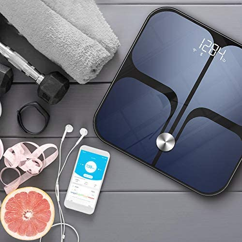 Digital Scale - Wi-Fi Bluetooth Auto - Switch Smart Scale Digital Weight, Body Fat Scale for Weight, 14 Body Composition Monitor with iOS, Android APP, Support Unlimited Users, Auto - Recognition 7