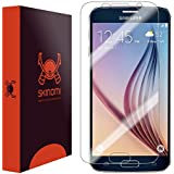 Galaxy S6 Screen Protector, Skinomi® TechSkin Full Coverage Screen Protector for Galaxy S6 Clear HD Anti-Bubble Film - with Lifetime Warranty