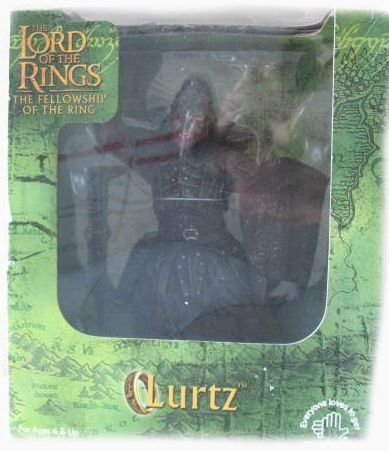 LOTR Applause Lord of the rings New Line Cinema Lurtz Figure (Rings Lurtz Of The Lord)