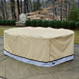 Seasons Sentry CVP01622 100''x70''x35'' Large Patio Cover Set