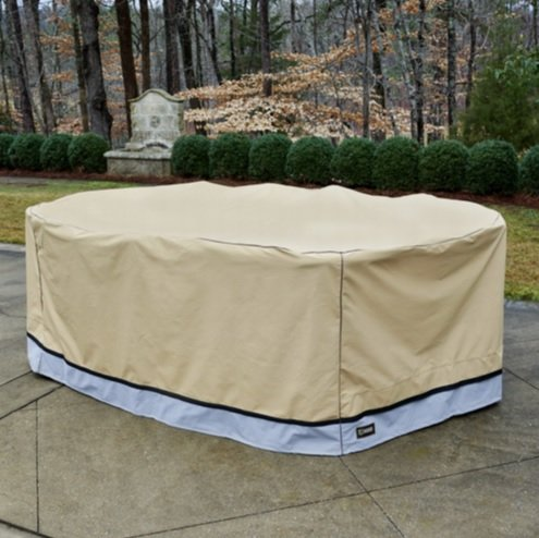 Seasons Sentry CVP01622 100''x70''x35'' Large Patio Cover Set by Seasons Sentry