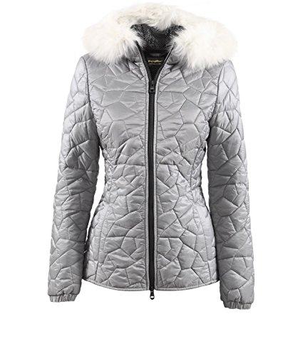 Rembourrage Pour Polyamide Femme Gris Naturel Tissu Veste Respirant En Geena Refrigiwear 4aTRqY4