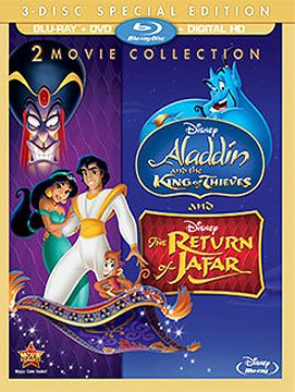 Disney The Return of Jafar / Aladdin and the King of Thieves