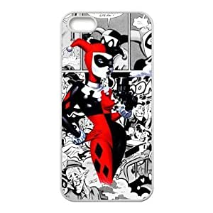 "Caitin Marvel Comics Joker And Harley Quinn Batman Cell Phone Cases Cover for Iphone 6 Plus(5.5"")"
