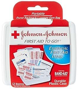 Johnson Amp Johnson Joj8295 Mini First Aid Kit Portable 12