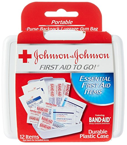 Johnson & Johnson Products Mini First Aid Kit