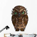 Wallmonkeys Cartoon Owl Wall Decal Peel and Stick Graphic (48 in H x 48 in W) WM71396